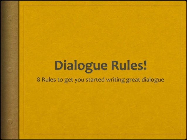 Guide to Writing a Dialogue in an Essay
