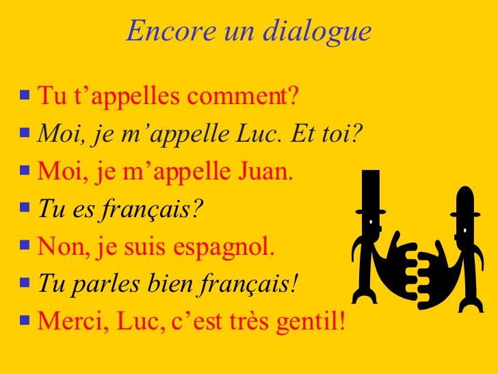 Très Dialogues Se Presenter HW43