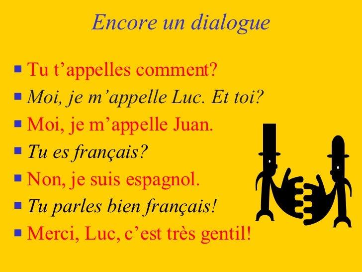Rencontre dialogue