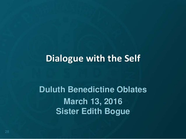Dialogue With The Self