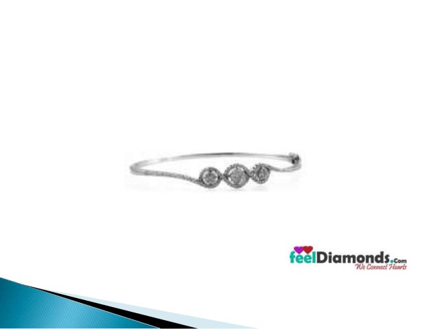 Visit:  http://feeldiamonds.com/ladies-certified-diamond-jewellery/  ladies-diamond-jewellery/diamond-bangles