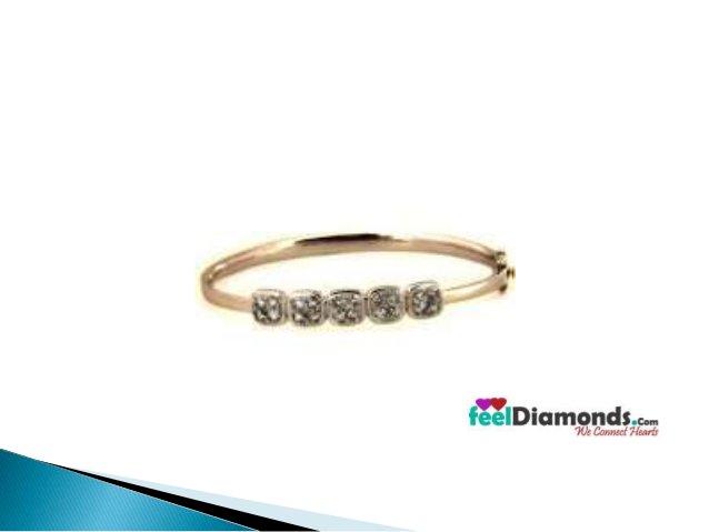 Diamond bangles | Feeldiamonds.com