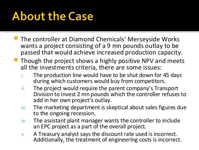 victoria chemicals plc a the merseyside project case solution