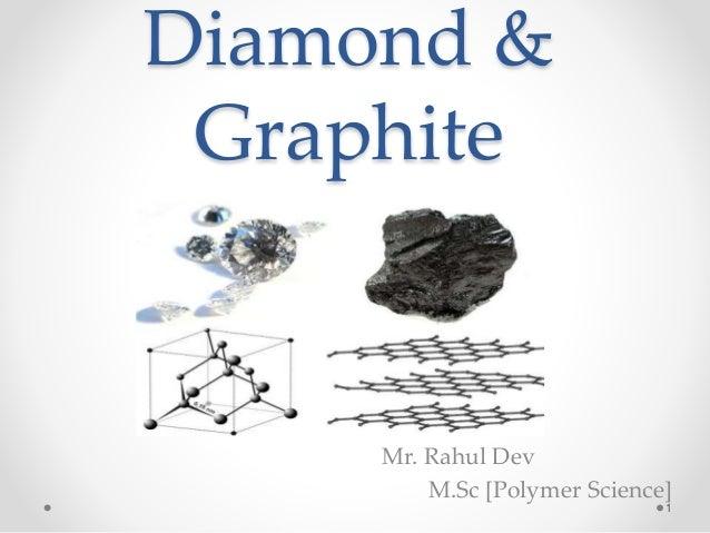 Diamond & Graphite Mr. Rahul Dev M.Sc [Polymer Science] 1
