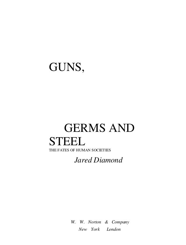 guns germs and steel chapter 9 summary
