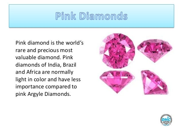 Types of Diamonds and its Quality Check