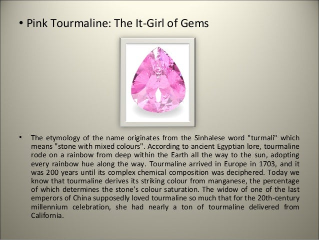 Pink Tourmaline Meaning | lifehacked1st.com