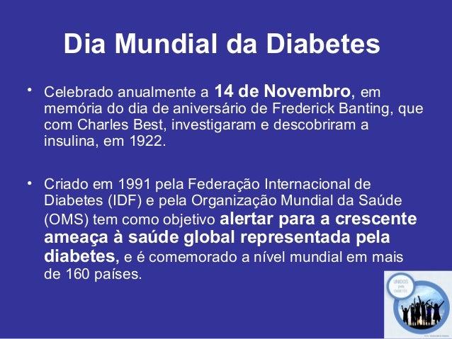 Dia mundial da diabetes 2012