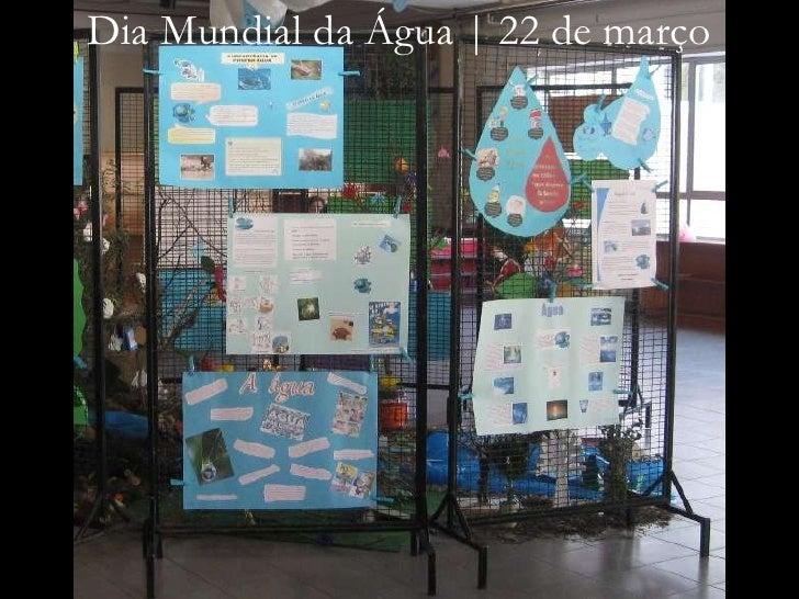 Dia Mundial da Água | 22 de março