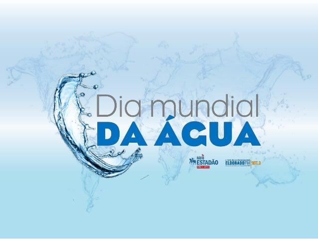 O Dia Mundial da Água foi criado pela ONU (Organização das Nações Unidas) no dia 22 de março de 1992. O dia 22 de março, d...