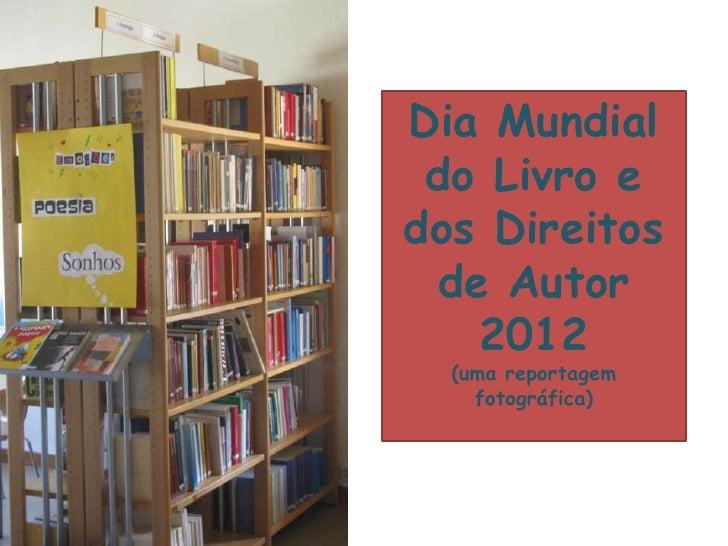 Dia mundial do livro 2012