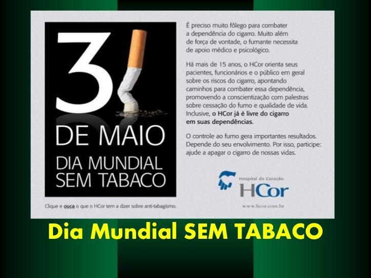 Dia Mundial SEM TABACO<br />