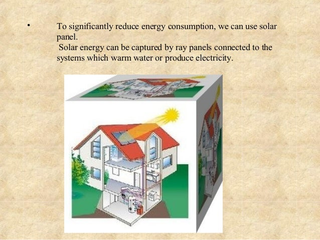 How Can We Save Energy