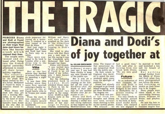 News of the World - Diana cutt