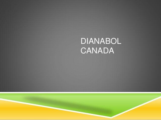 DIANABOL CANADA