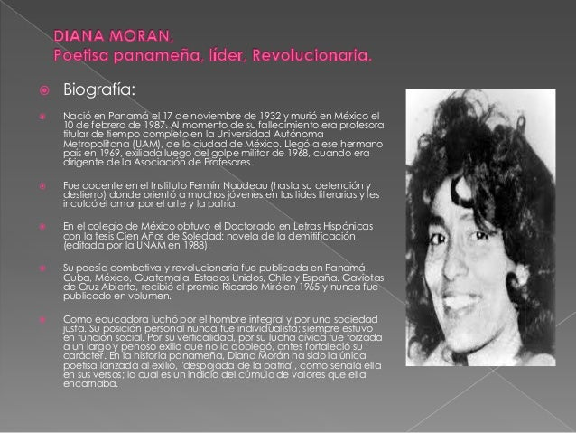   Biografía:    Nació en Panamá el 17 de noviembre de 1932 y murió en México el 10 de febrero de 1987. Al momento de su ...