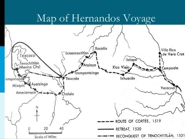 Hernan Cortes Exploration Route Map: Hernando Corts Explorer. Jill Scott Insomnia