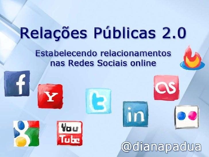 Relações Públicas 2.0