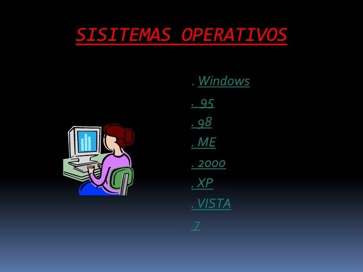 SISITEMAS OPERATIVOS br   . Windows  br   . 139358ccd7b4b