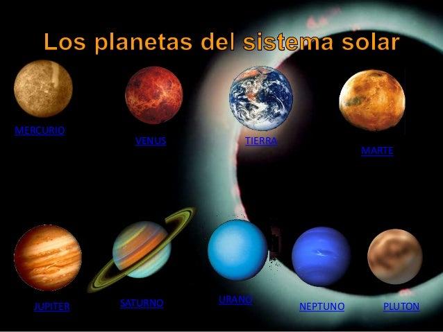 Conociendo los planetas del sistema solar - Caracteristicas de los planetas interiores ...