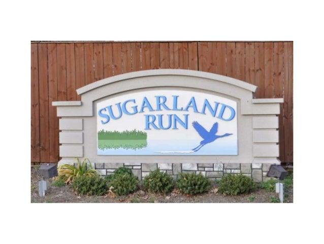Sugarland Run Hoa Presentation 3 10 16