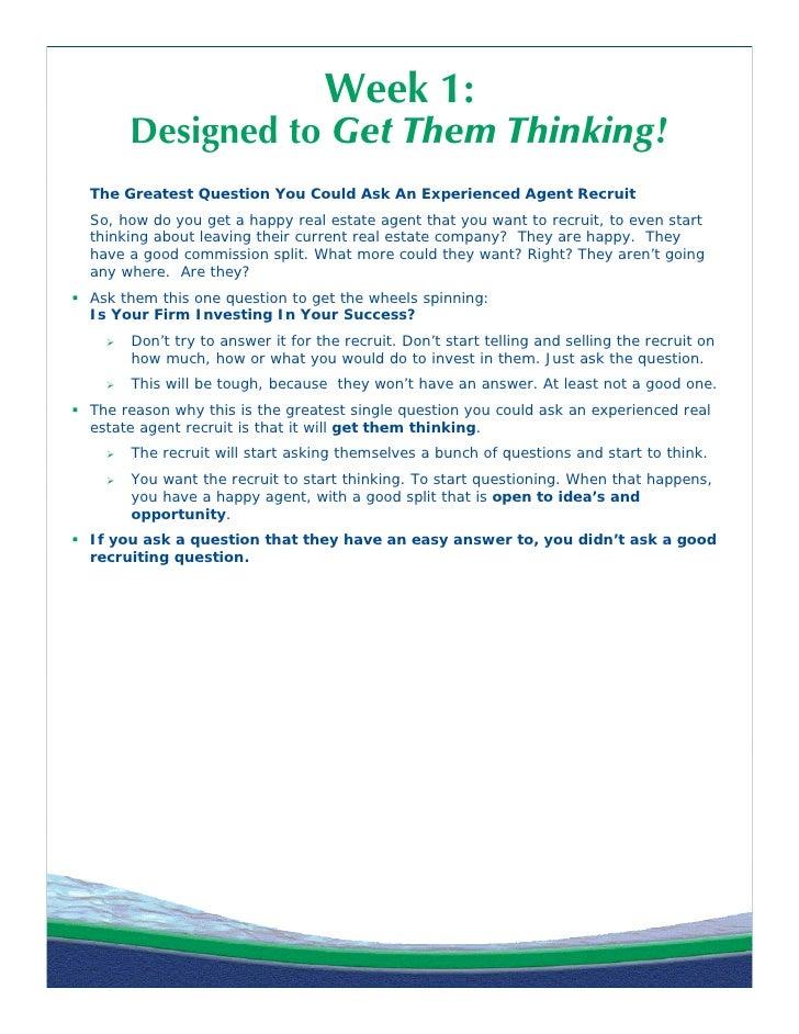 diane turton realtors agent recruiting drip email campaign