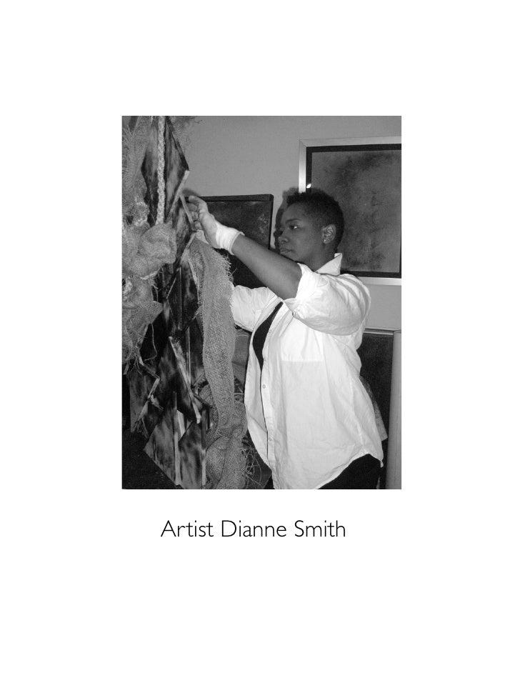 Artist Dianne Smith