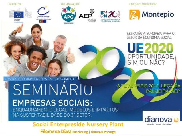 Iniciativa Estratégia Europa 2020: Oportunidade para o Setor de Economia Social, Sim ou Não? Miguel Toscano | Coordenador ...