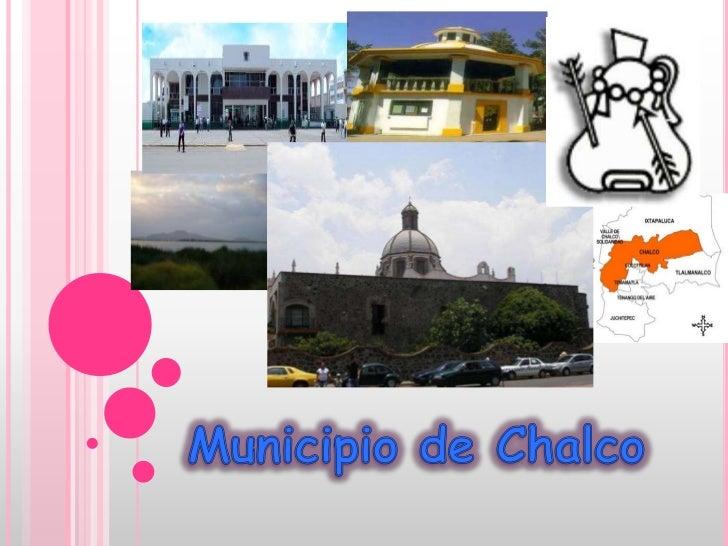 Municipio de Chalco<br />