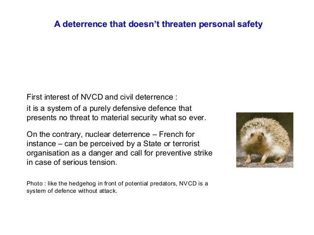 NCD  — 08  Definition and design of a nonviolent civil defence