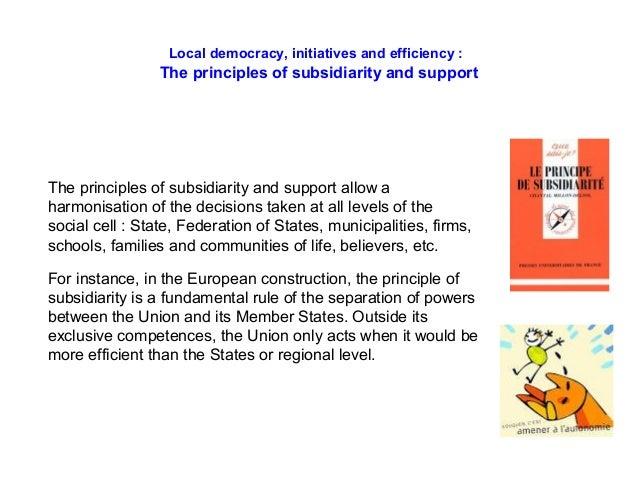 Efficient Democracy