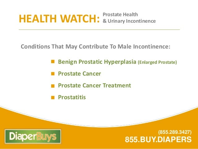 Adult Incontinence - 10 Facts Slide 3