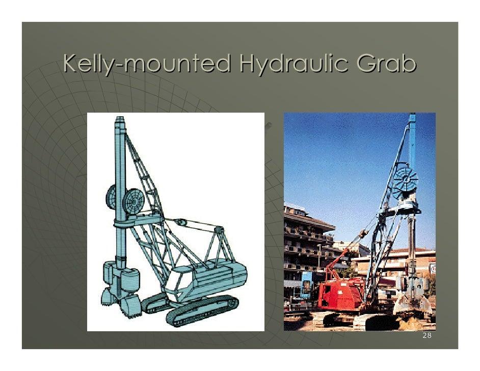 Kelly-mounted Hydraulic Grab                                    28