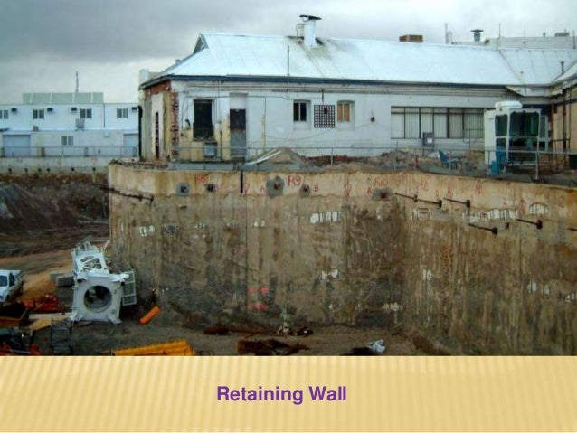 SELECTION OF TYPE OF DIAPHRAGM WALL Selection of type of diaphragm depends upon a number of factors such as: a) Site condi...