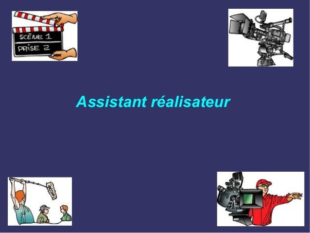 Assistant réalisateur
