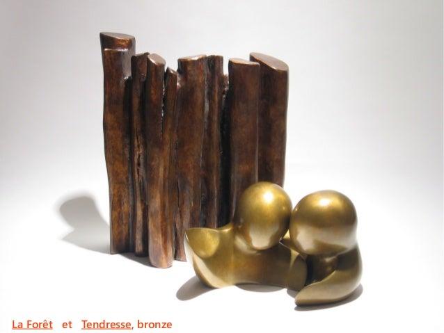 La Forêt et Tendresse, bronze