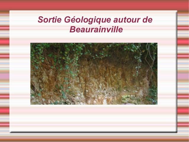 Sortie Géologique autour de Beaurainville
