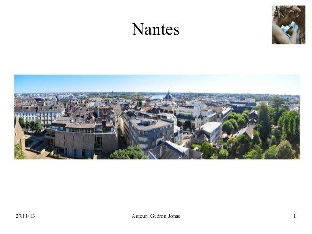 Nantes  27/11/13  Auteur: Guéron Jonas  1