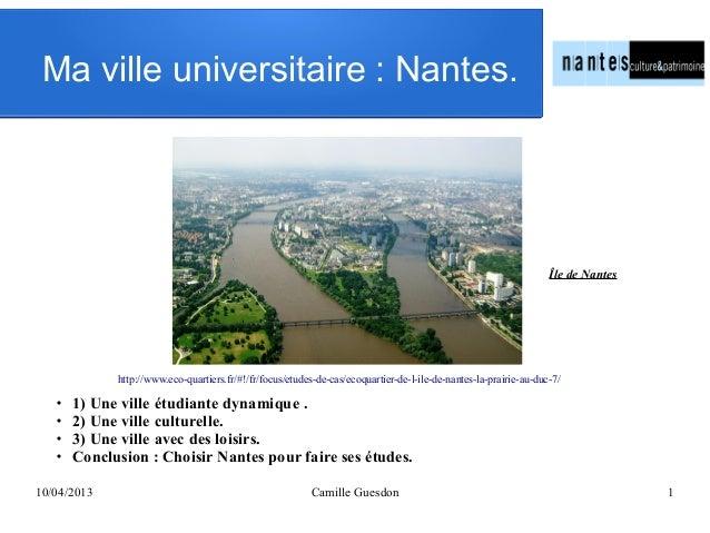 Ma ville universitaire: Nantes.  Île de Nantes  http://www.eco-quartiers.fr/#!/fr/focus/etudes-de-cas/ecoquartier-de-l-il...