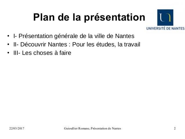 Diaporama : Présentation de la ville de Nantes Slide 2
