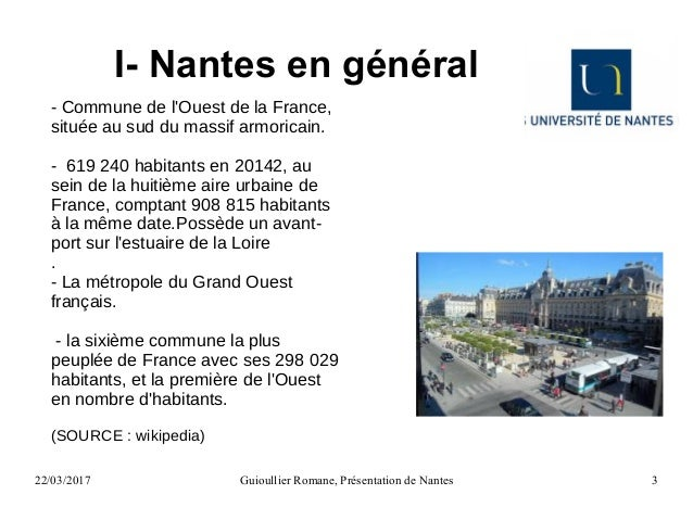 Diaporama : Présentation de la ville de Nantes Slide 3