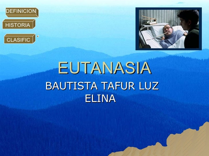 EUTANASIA BAUTISTA TAFUR LUZ ELINA