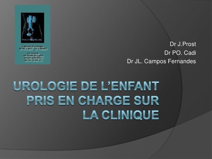 Dr J.Prost             Dr PO. Cadi Dr JL. Campos Fernandes