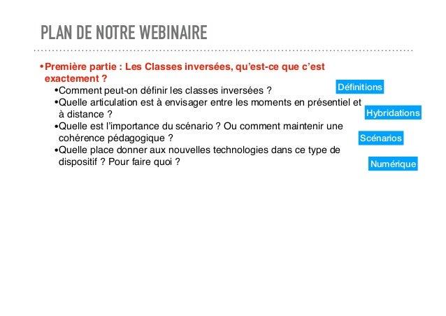 Se former: les classes inversées, une opportunité pédagogique pour le retour en classe ¿ Slide 2