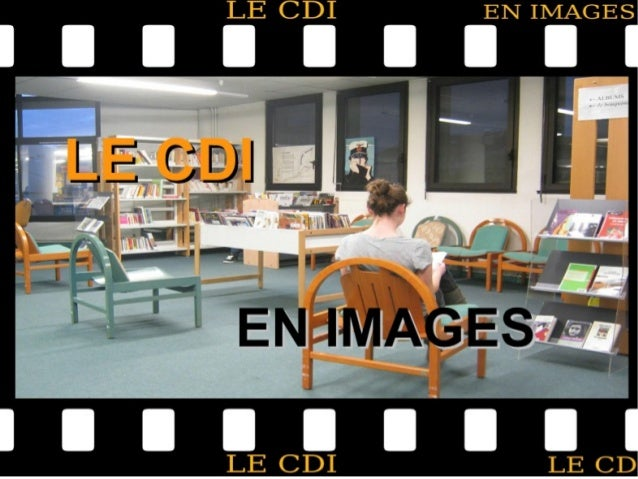 Le CDI est ouvert : le lundi et le vendredi de 8h à16h30 le mardi et le jeudi de 9h à16h30 le mercredi de 9h à 12h