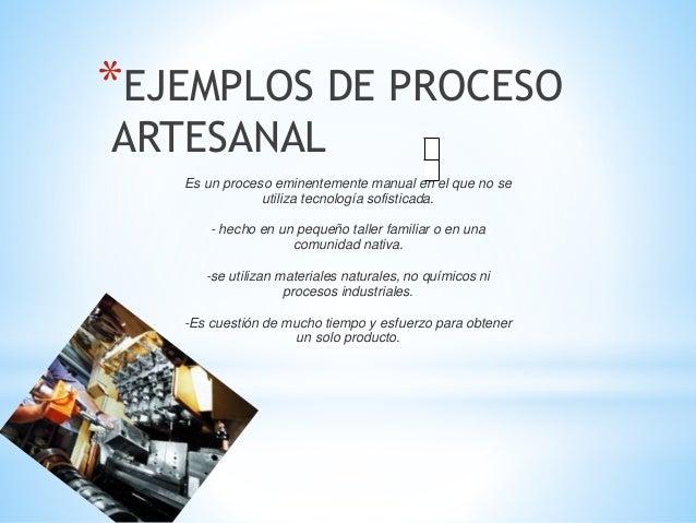 proceso fabril