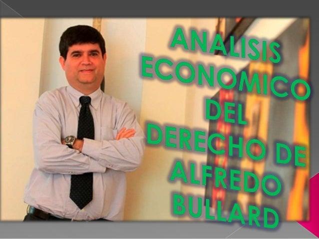 El análisis económico delderecho es la aplicaciónde las teorías y métodosde    la    economía     alsistema      legal    ...