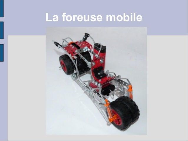 La foreuse mobile