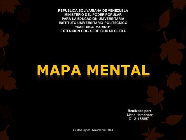 REPUBLICA BOLIVARIANA DE VENEZUELA  MINISTERIO DEL PODER POPULAR  PARA LA EDUCACION UNIVERSITARIA  INSTITUTO UNIVERSITARIO...