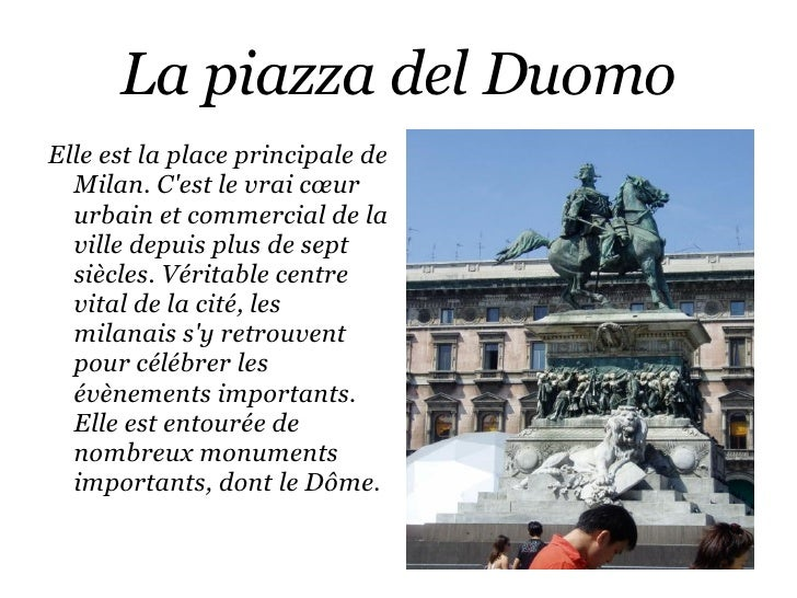 Il Duomo <ul><li>Majestueux cœur de la capitale Lombarde, mélange étonnant de baroque, classique et néo-classique.